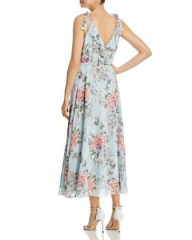 nanette Nanette Lepore - Tie-Shoulder Floral Dress