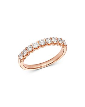 Bloomingdale's - Diamond 9-Stone Classic Band in 14K Rose Gold, 0.60 ct. t.w. - 100% Exclusive