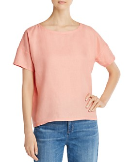Eileen Fisher - Organic Linen Boxy Top