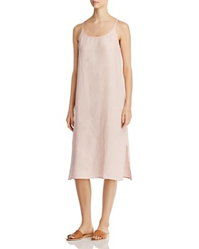 Eileen Fisher Petites - Organic Linen Slip Dress