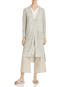 Eileen Fisher Petites - High/Low Duster Cardigan
