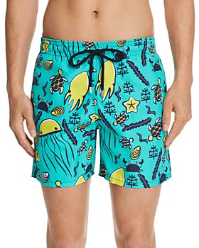 Vilebrequin - Sea-Life Beach-Print Swim Shorts