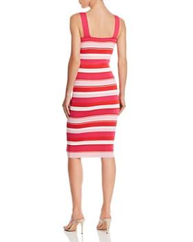 Bardot - Striped Body-Con Midi Dress