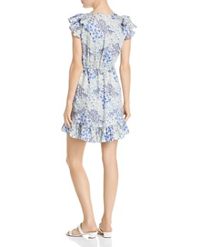 Rebecca Taylor - Ava Ruffled Floral-Silk Dress