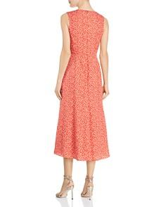 Rebecca Taylor - Malia Twist-Front Floral Dress
