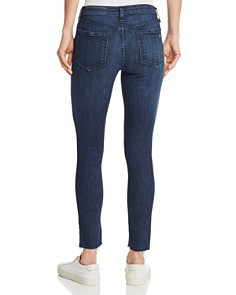 rag & bone/JEAN - Cate Raw-Edge Cropped Skinny Jeans in Wilton