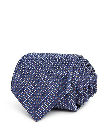 BOSS - Dotted Grid Classic Tie