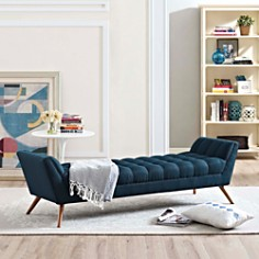 Modway - Response Large Upholstered Large Fabric Bench