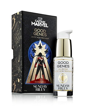 SUNDAY RILEY - CAPTAIN MARVEL x GOOD GENES All-in-One Lactic Acid Treatment, Limited Edition 1 oz.