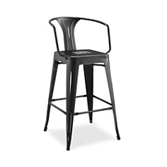 Modway - Promenade Metal Bar Stool with Arms