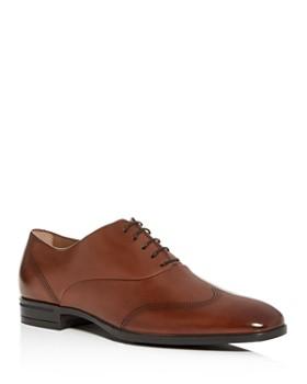 BOSS - Men's Kensington Leather Brogue Wingtip Oxfords