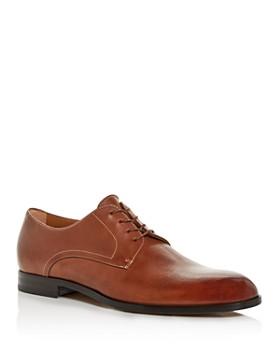 BOSS - Men's Brighton Leather Plain-Toe Oxfords
