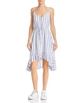 Rails - Frida Striped High/Low Dress