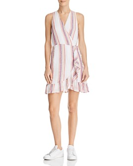 Rails - Madison Jewel Stripe Wrap Dress