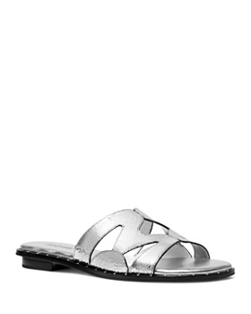 MICHAEL Michael Kors - Women's Annalee Slide Sandals