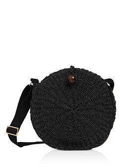 Whistles - James Woven Circle Crossbody
