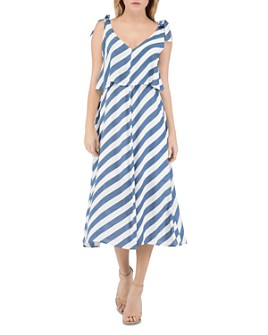 B Collection by Bobeau - Lisette Sleeveless Striped Dress