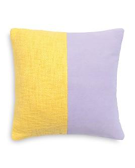 "kate spade new york - Split Texture Decorative Pillow, 18"" x 18"""