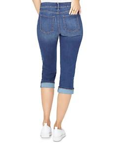 NYDJ - Marilyn Cuffed Cropped Jeans in Junipero