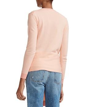 Maje - Meryla Tie-Front Wool Sweater
