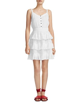 Maje - Rustivan Ruffle Dress
