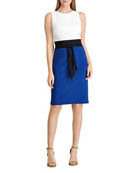 Ralph Lauren - Color-Blocked Jersey Dress