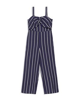 Bardot Junior - Girls' Lola Striped Jumpsuit - Little Kid