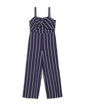 Bardot Junior - Girls' Lola Striped Jumpsuit - Little Kid