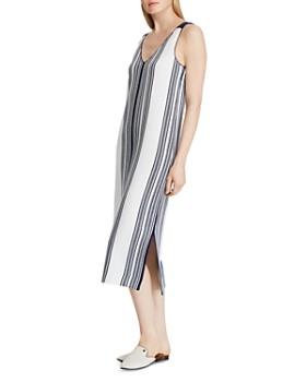 Ralph Lauren - Sleeveless Striped Midi Dress
