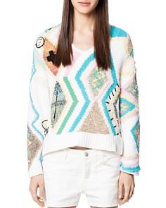 Zadig & Voltaire - Sonny Intarsia Carpet Sweater