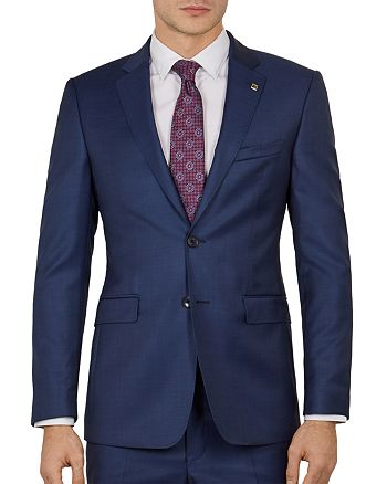 Ted Baker - Kernalj Debonair Sharkskin Slim Fit Suit Jacket