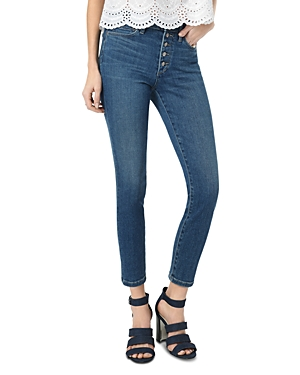 Joe's Jeans Jeans THE CHARLIE CROP EXPOSED BUTTON FLY JEANS IN NESSA