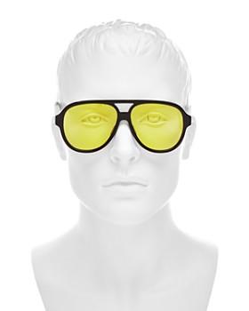 0271ffd93af ... 58mm Gucci - Men s Brow Bar Aviator Sunglasses