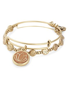 Alex and Ani - Lotus Peace Petals Expandable Bracelet