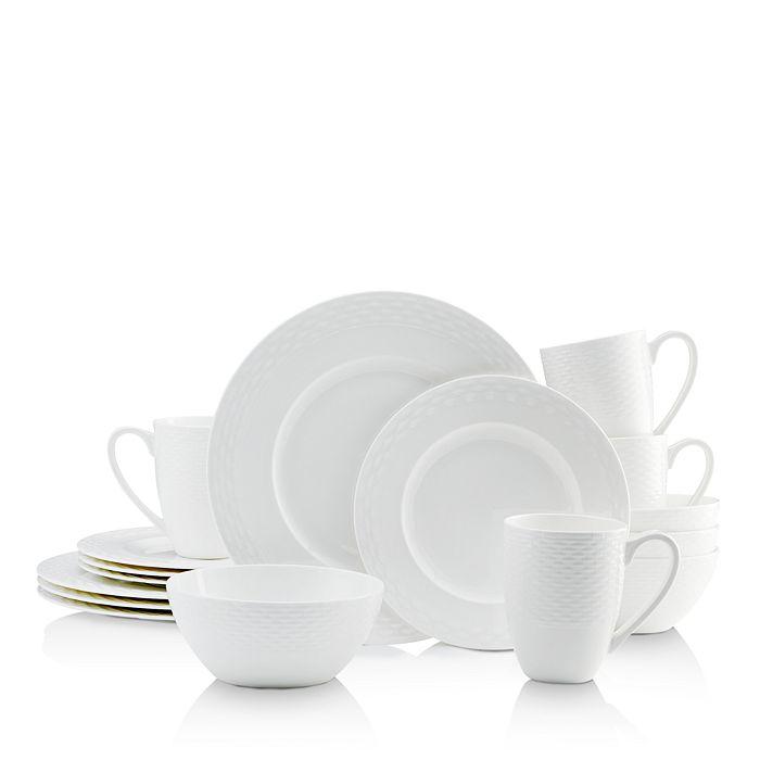 Mikasa - Ortley White 16-Piece Dinnerware Set