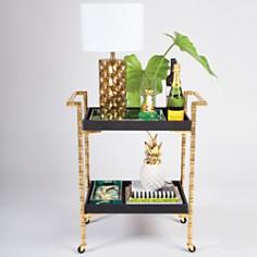 8 Oak Lane - Bamboo Bar Cart