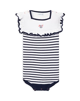 Ralph Lauren - Girls' Nautical Bubble Shortall - Baby