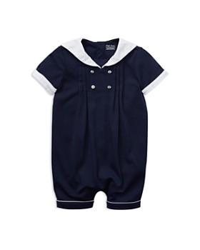Ralph Lauren - Boys' Sailor Cotton Shortall - Baby