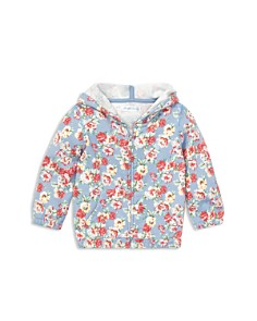 Ralph Lauren - Girls' Floral French Terry Hoodie - Baby