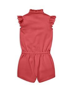 Ralph Lauren - Girls' Eyelet-Trim Cotton Mesh Romper - Baby