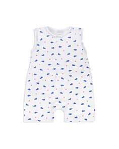 Kissy Kissy - Boys' Whale Print Short Coverall - Baby
