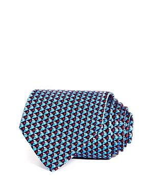 Salvatore Ferragamo Goldfish Silk Classic Tie