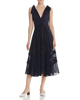 Rebecca Taylor - Pleated Silk Dress