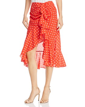Finders Keepers - Rosie Polka-Dot Ruffle Skirt