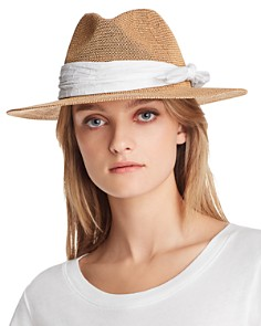August Hat Company - Eyelet-Trim Packable Hat - 100% Exclusive