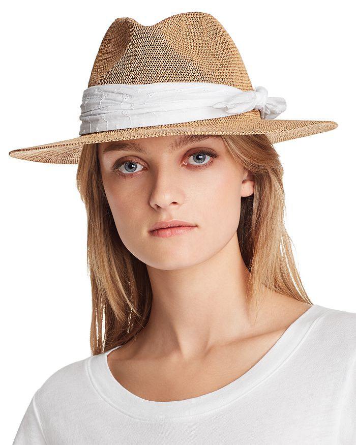 9771cafe August Hat Company Eyelet-Trim Packable Hat - 100% Exclusive ...