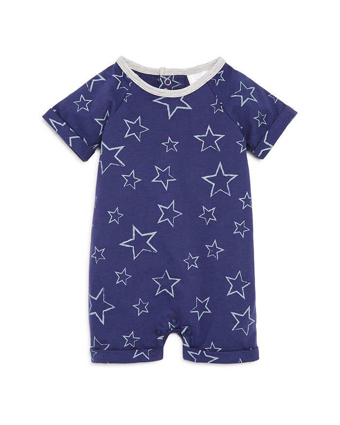 Bloomie's - Boys' Star Print Short Coverall, Baby - 100% Exclusive