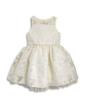 3576cc43654 Pippa   Julie - Girls  Floral-Burnout Pouf Dress - Little ...