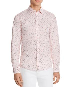 Michael Kors - Amos Stretch Slim Fit Shirt