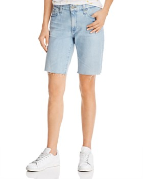 AG - Nikki Relaxed Denim Shorts in 26 Years Surged